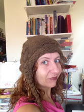 Photo: Nightshade hat --- knit from END to END! LOVED it. Yarn is Knit Picks' Andes Del Campo.