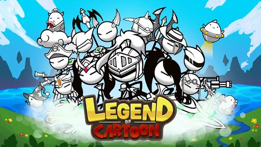 Télécharger Gratuit Legend of the cartoon - idle RPG APK MOD (Astuce) screenshots 1