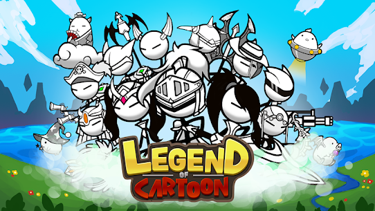 Legend of the cartoon – idle RPG Apk Download For Android and Iphone 1