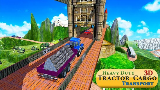 Heavy Duty Tractor Driver Cargo Transport Sim 3D