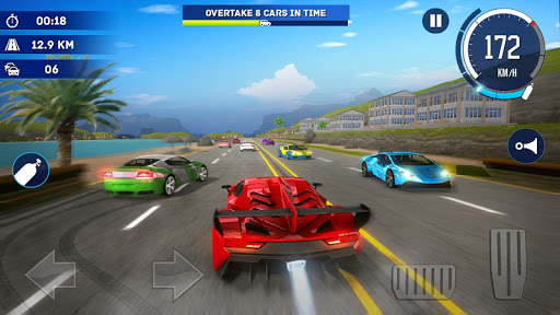 Traffic Car Racing: Highway City Driving Simulator - screenshot