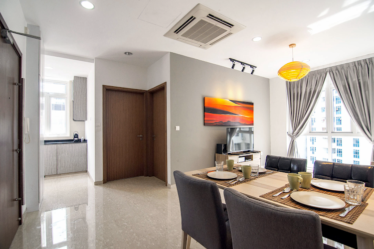 Luxury dining area at Toa Payoh Apartments, Balestier