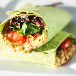 Vegan Hummus Wrap