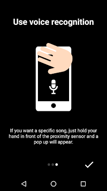 Music Sense - Powered by Voice & Hand Commands! screenshot 3