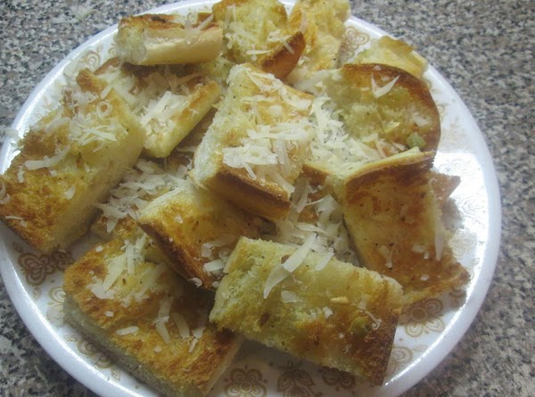 Crispy Garlic Bread W/parmesan Cheese Recipe
