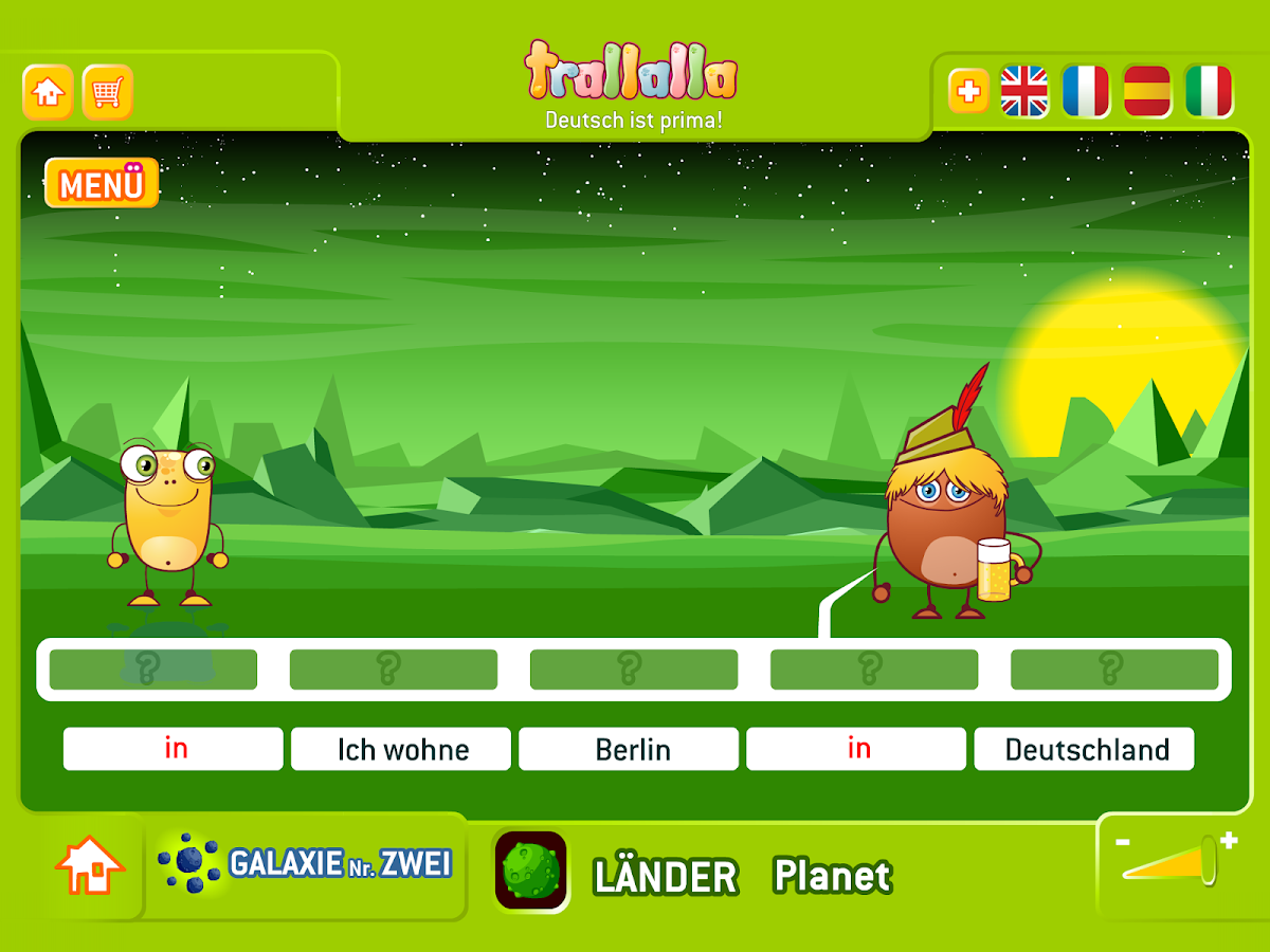 Trallalla German- screenshot