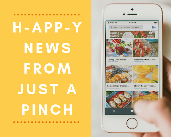 H-APP-Y News From Just A Pinch
