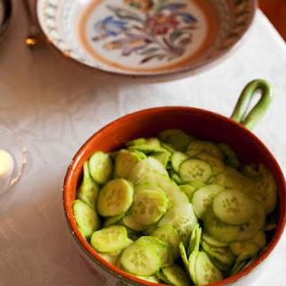 Cucumber Salad (uborkasalata)