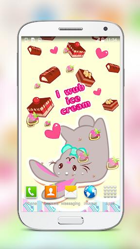 Cute Strawberry Live Wallpaper