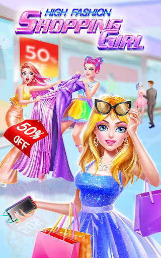 High Fashion Shopping Girl APK MOD screenshots hack proof 1