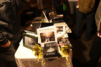 Photo: Bay Area Underground, http://thoughtpublishing.org, and Oakland in Popular Memory for sale at 26th and Telegraph at Oakland's First Friday Art Murmur, http://www.oaklandfirstfridays.org.