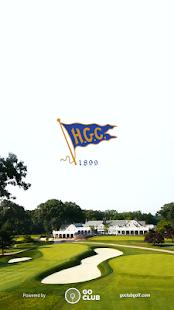 Hackensack Golf Club App - náhled