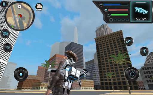 Jetpack Hero Miami Crime 1.4 screenshots 4