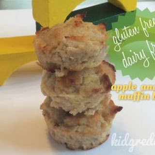 Apple and Pear Muffin Bites- Gluten and Dairy Free! Recipe