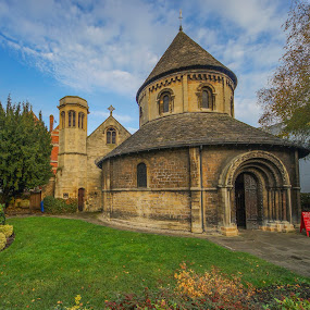 Round church by Yordan Mihov - Buildings & Architecture Places of Worship ( park, church, sony alpha, round, cambridge )