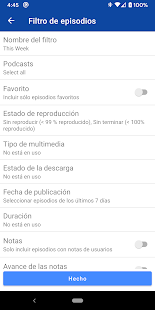 Podcast Republic - Reproductor y app de Podcast Screenshot