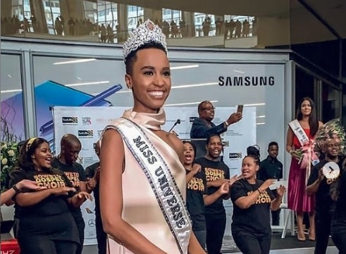Miss Universe Zozibini Tunzi Starts Homecoming Tour In Joburg