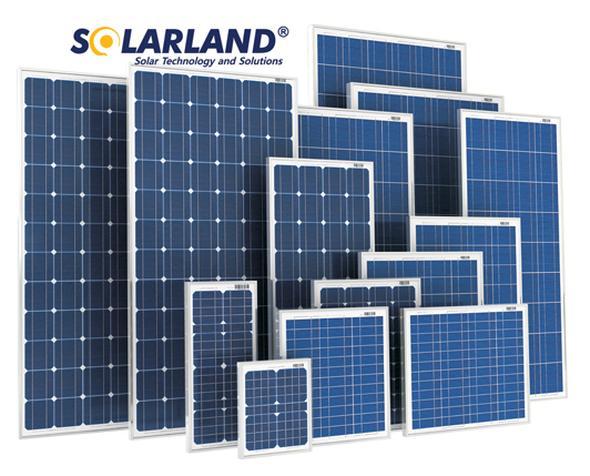 SolarLand SLP020-24U Silver Poly 24 Volt Solar Panel