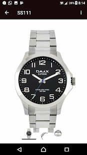 Omax Watches - India - náhled