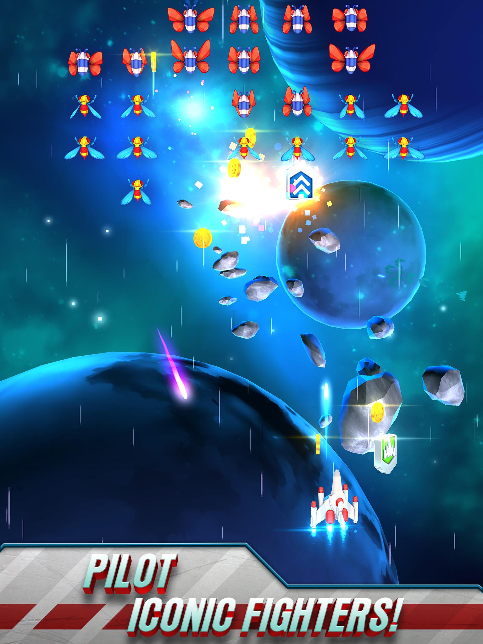 Galaga Wars screenshot #11