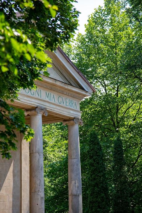 Arkadia, Romantyczny park w Arkadii, Polska, Świątynia Diany