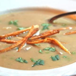 Sopa de Mani - Bolivian Peanut and Potato Soup
