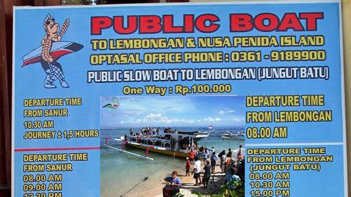 Public Boat ke Lembongan