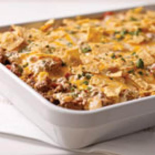 Your Family Will Love This Southwest Flavor!  Ground Beef And Poblano Pepper Mix Magically To Make This Wonderful Casserole Something Memorable!