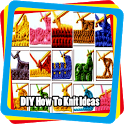 DIY How To Knit Ideas icon