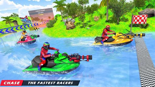 Jet Ski Racing Games: Jetski Shooting - Boat Games Apk 2