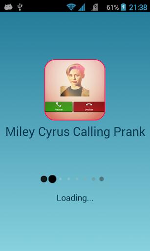 Miley Cyrus Calling Prank