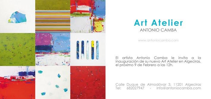 Nuevo Art Atelier de Antonio Camba en Algeciras