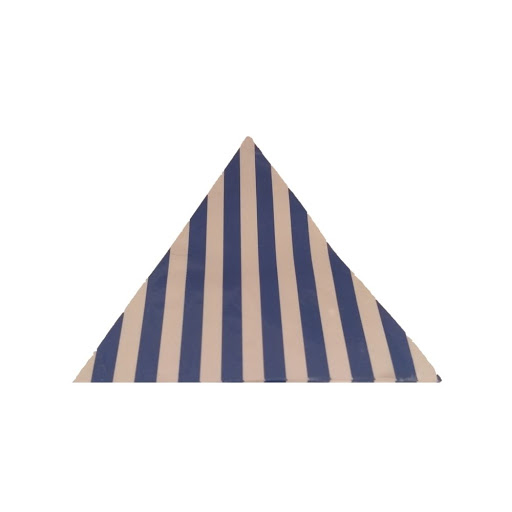 banderines azul rayas para decorar