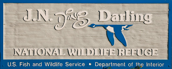 Photo: Entrance sign to the Ding Darling National Wildlife Refuge