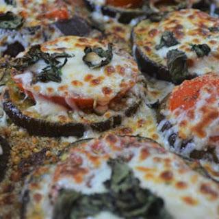 Eggplant Pizzas (Gluten-Free, Grain-Free, Low-Carb).