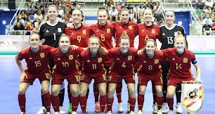 Las chicas de oro de la Selección Absoluta de Fútbol Sala.