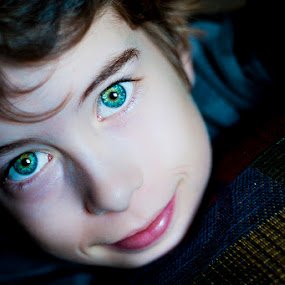 Those eyes by Nick Beaudoin - Babies & Children Children Candids
