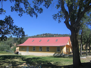 Photo: Yoga Farm, CA - Yoga Barn side view