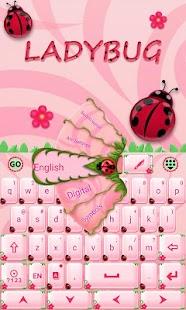Cute-Ladybug-GO-Keyboard-Theme 1