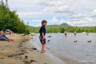 Photo: Enjoying the water at Lake Groton in Stillwater State Park by Collin O'Neil
