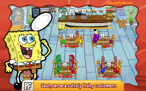 SpongeBob Diner Dash screenshot 6