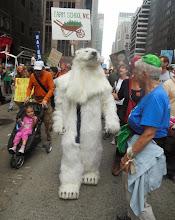 Photo: Polar bear. Had me convinced until he took his head off.
