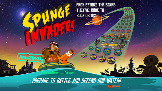 Spunge Invaders Screenshot 6