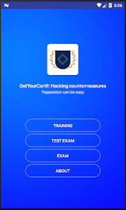 Ethical hacking and countermeasures practice exams Apk Download For Android 1
