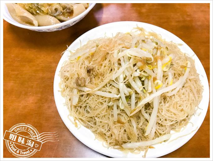 劉家豬血湯菜單炒米粉