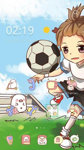 サッカーを再生します