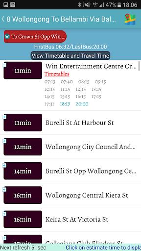 sydney bus screenshot 3