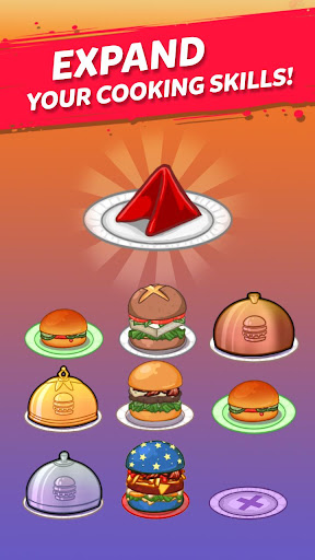 Merge Burger: Food Evolution Cooking Merger apkpoly screenshots 2