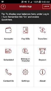 LeRoy Credit Union Mobile App- screenshot thumbnail