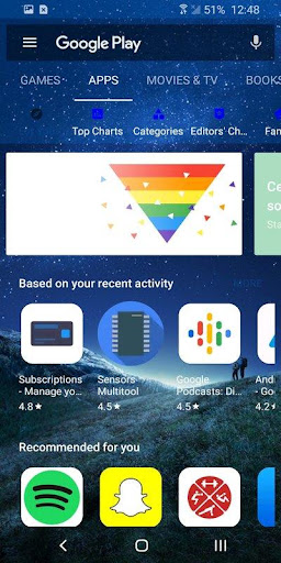Translucent Substratum OneUI  screenshots 2